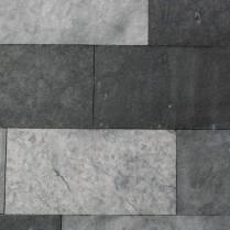 Fachada en sabana negra y caliza blanca-3